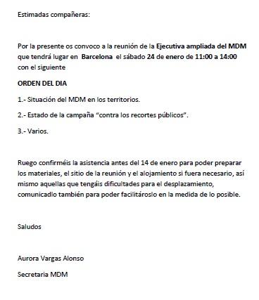 reunion mdm barcelona 24-01-15