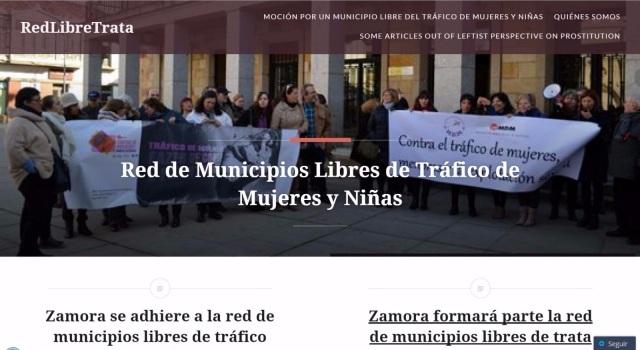 Blog Red de Municipios Libres de Tráfico de Mujeres y Niñas