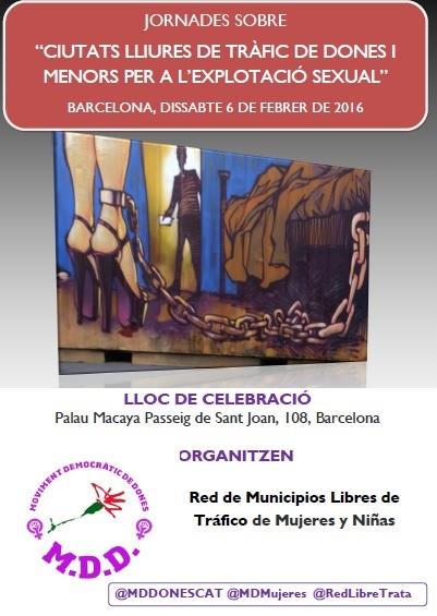 cartel jornadas barcelona cat 6-02-16