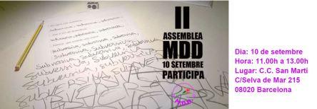 invitacion II asamblea mdd