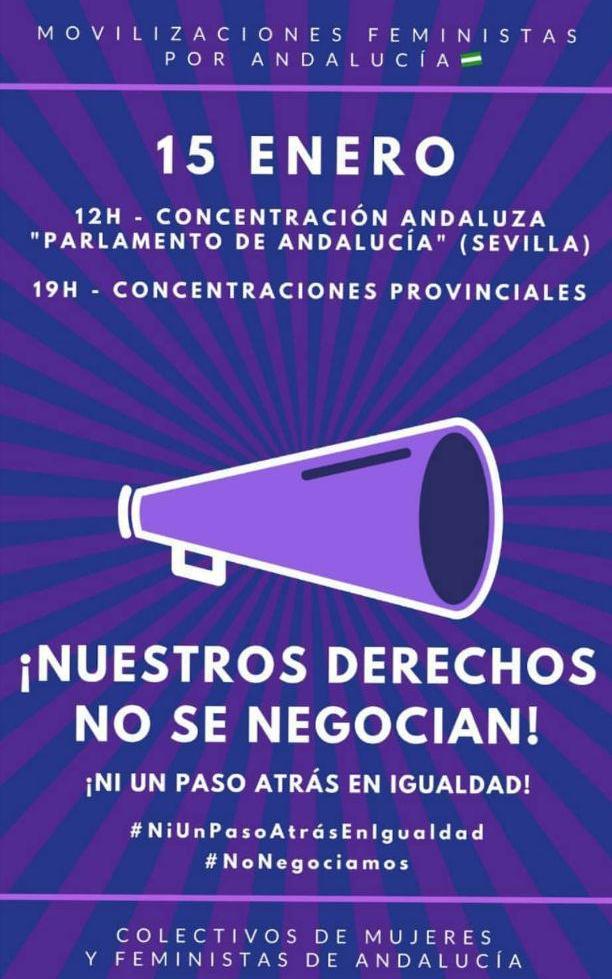 15 enero andalucia